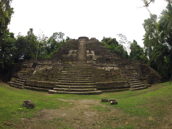 High Temple at Lamanai #Belize
